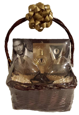 Gift baskets for him princess fine gifts usher gift basket usher negle Choice Image