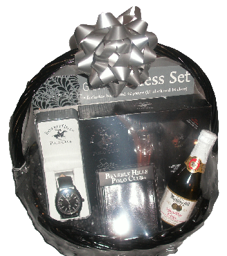 Gift baskets for him princess fine gifts beverly hills polo club gift basket negle Gallery