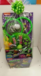 Teenage Ninja Turtles Easter Basket